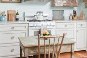 Фото 41 Кухня в стиле шебби-шик: винтажная роскошь для ценителей комфорта и 80 уютных интерьеров