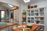 Фото 27 Раскладные столы для маленькой кухни: как оптимизировать кухонное пространство и обзор наиболее удобных современных моделей