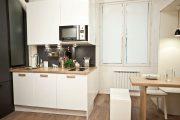 Фото 29 Раскладные столы для маленькой кухни: как оптимизировать кухонное пространство и обзор наиболее удобных современных моделей