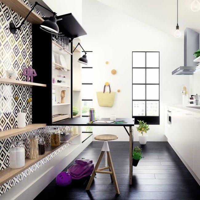 Кухонные столы раскладные для маленькой кухни: раскладной стол для современной кухни в комплекте с табуретками