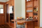 Фото 10 Раскладные столы для маленькой кухни: как оптимизировать кухонное пространство и обзор наиболее удобных современных моделей