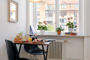 Фото 11 Раскладные столы для маленькой кухни: как оптимизировать кухонное пространство и обзор наиболее удобных современных моделей