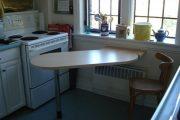 Фото 14 Раскладные столы для маленькой кухни: как оптимизировать кухонное пространство и обзор наиболее удобных современных моделей