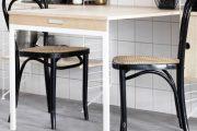 Фото 16 Раскладные столы для маленькой кухни: как оптимизировать кухонное пространство и обзор наиболее удобных современных моделей