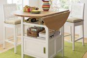 Фото 17 Раскладные столы для маленькой кухни: как оптимизировать кухонное пространство и обзор наиболее удобных современных моделей