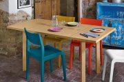 Фото 23 Раскладные столы для маленькой кухни: как оптимизировать кухонное пространство и обзор наиболее удобных современных моделей