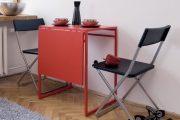 Фото 24 Раскладные столы для маленькой кухни: как оптимизировать кухонное пространство и обзор наиболее удобных современных моделей