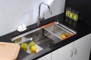 Фото 21 Как выбрать мойку для кухни: полезные рекомендации и обзор наиболее удобных и функциональных моделей