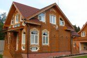 Фото 77 Наличник на окна в деревянном доме: декоративное украшение фасада и 70+ оригинальных примеров