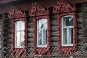 Фото 60 Наличник на окна в деревянном доме: декоративное украшение фасада и 70+ оригинальных примеров