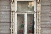 Фото 62 Наличник на окна в деревянном доме: декоративное украшение фасада и 70+ оригинальных примеров