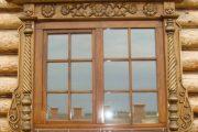 Фото 66 Наличник на окна в деревянном доме: декоративное украшение фасада и 70+ оригинальных примеров