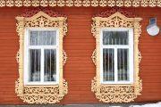 Фото 70 Наличник на окна в деревянном доме: декоративное украшение фасада и 70+ оригинальных примеров