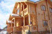 Фото 76 Наличник на окна в деревянном доме: декоративное украшение фасада и 70+ оригинальных примеров