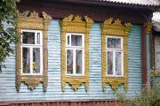 Фото 12 Наличник на окна в деревянном доме: декоративное украшение фасада и 70+ оригинальных примеров