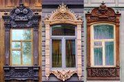 Фото 16 Наличник на окна в деревянном доме: декоративное украшение фасада и 70+ оригинальных примеров