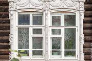 Фото 23 Наличник на окна в деревянном доме: декоративное украшение фасада и 70+ оригинальных примеров