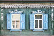Фото 30 Наличник на окна в деревянном доме: декоративное украшение фасада и 70+ оригинальных примеров