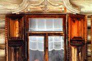Фото 32 Наличник на окна в деревянном доме: декоративное украшение фасада и 70+ оригинальных примеров