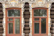 Фото 40 Наличник на окна в деревянном доме: декоративное украшение фасада и 70+ оригинальных примеров