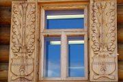 Фото 5 Наличник на окна в деревянном доме: декоративное украшение фасада и 70+ оригинальных примеров