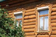Фото 46 Наличник на окна в деревянном доме: декоративное украшение фасада и 70+ оригинальных примеров