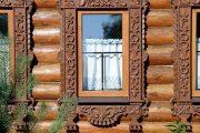 Фото 55 Наличник на окна в деревянном доме: декоративное украшение фасада и 70+ оригинальных примеров