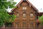 Фото 56 Наличник на окна в деревянном доме: декоративное украшение фасада и 70+ оригинальных примеров