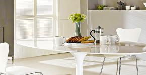 Овальные столы для кухни: тонкости выбора и 80+ комфортных моделей для дома фото