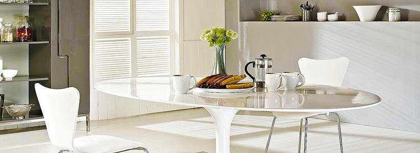 Овальные столы для кухни: тонкости выбора и 80+ комфортных моделей для дома