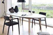 Фото 57 Овальные столы для кухни: тонкости выбора и 80+ комфортных моделей для дома