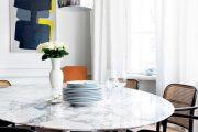 Фото 35 Овальные столы для кухни: тонкости выбора и 80+ комфортных моделей для дома