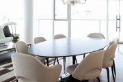 Фото 39 Овальные столы для кухни: тонкости выбора и 80+ комфортных моделей для дома