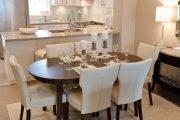Фото 6 Овальные столы для кухни: тонкости выбора и 80+ комфортных моделей для дома