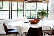 Фото 40 Овальные столы для кухни: тонкости выбора и 80+ комфортных моделей для дома