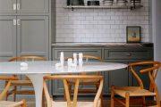 Фото 44 Овальные столы для кухни: тонкости выбора и 80+ комфортных моделей для дома