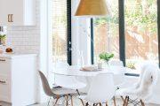 Фото 19 Овальные столы для кухни: тонкости выбора и 80+ комфортных моделей для дома