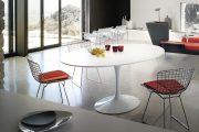 Фото 30 Овальные столы для кухни: тонкости выбора и 80+ комфортных моделей для дома