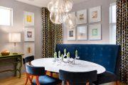 Фото 11 Овальные столы для кухни: тонкости выбора и 80+ комфортных моделей для дома