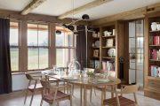 Фото 13 Овальные столы для кухни: тонкости выбора и 80+ комфортных моделей для дома