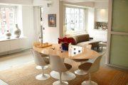 Фото 23 Овальные столы для кухни: тонкости выбора и 80+ комфортных моделей для дома