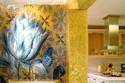 Фото 12 Панно из плитки на кухню: модификации декора стен и 80+ вариантов элегантной и запоминающейся отделки