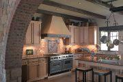 Фото 16 Панно из плитки на кухню: 110+ ярких фото идей для декора фартука и кухонной отделки