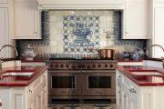 Фото 2 Панно из плитки на кухню: 110+ ярких фото идей для декора фартука и кухонной отделки