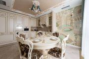 Фото 23 Панно из плитки на кухню: 110+ ярких фото идей для декора фартука и кухонной отделки