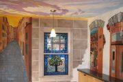 Фото 24 Панно из плитки на кухню: 110+ ярких фото идей для декора фартука и кухонной отделки