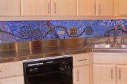 Фото 28 Панно из плитки на кухню: 110+ ярких фото идей для декора фартука и кухонной отделки