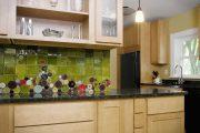 Фото 29 Панно из плитки на кухню: 110+ ярких фото идей для декора фартука и кухонной отделки