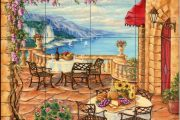 Фото 30 Панно из плитки на кухню: модификации декора стен и 80+ вариантов элегантной и запоминающейся отделки