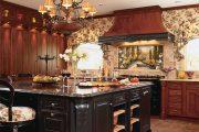 Фото 33 Панно из плитки на кухню: 110+ ярких фото идей для декора фартука и кухонной отделки